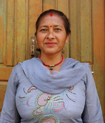 Chandra Kala Tiwari of Jitpur cooperative