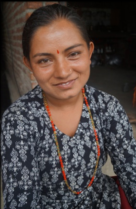 Sarmila adhikari of jitpur being independent because of help provided by jitpur cooperative