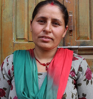 Shanti phuyal of Jitpur cooperative